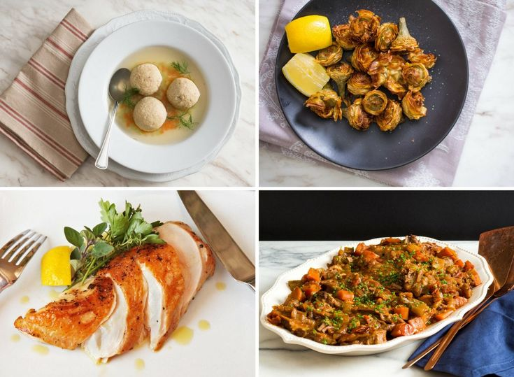 14 Passover Dinner Recipes for a Super Seder | 14 of our favorite traditional and not-so-traditional recipes to make this year's seder a smashing success (and stay tuned for some delicious ideas for Passover-appropriate desserts, too). #passover #passoverdinner #seder #sederreicpes #passoverrecipes