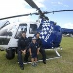 6-year-old Jonah Dafnis mentioned to the Make-a-Wish Foundation that he would like to become a Police Officer so the QPS came to the rescue and provided a day packed with adventure. Jonah rated the visit from Polair as his highlight of the day.