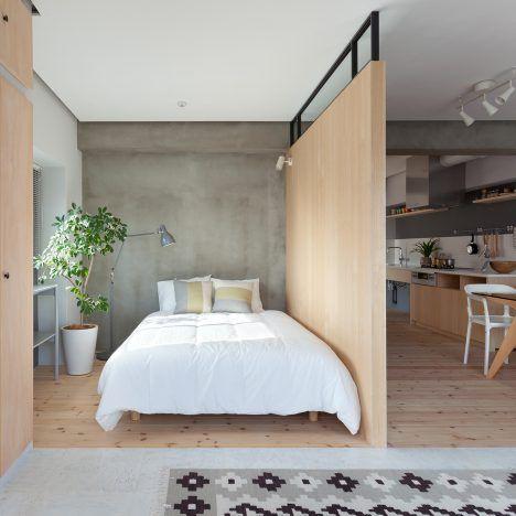 Fujigaoka M apartment / Sinato