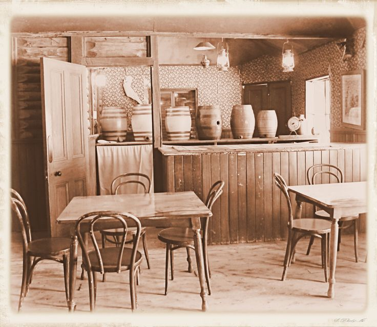 Going to the pub ain't what it used to be... Pioneer Settlement, Swan Hill, Victoria