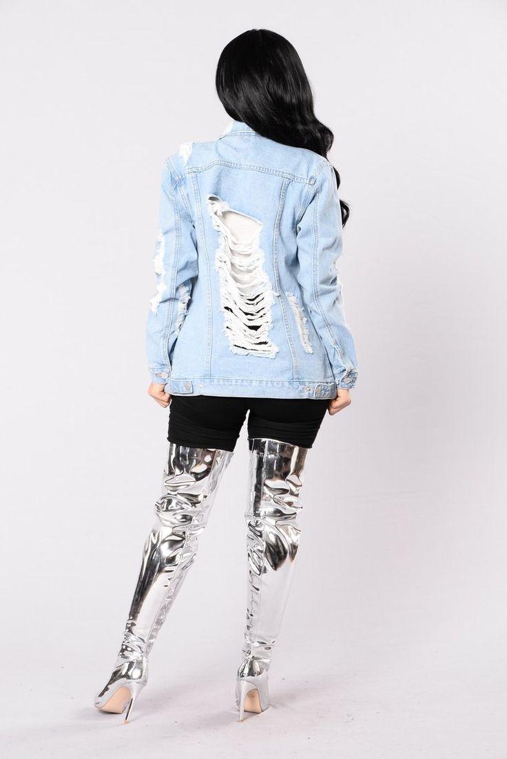Stereo Love Denim Jacket Bleach Denim jacket