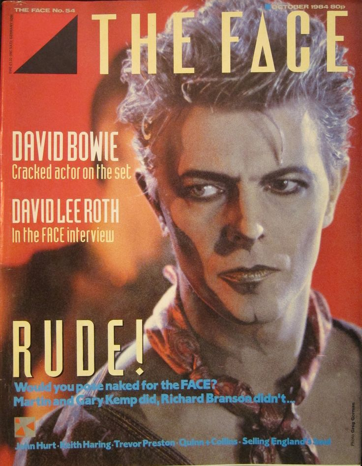 DAVID BOWIE - THE FACE No54 OCTOBER 1984