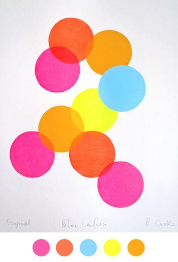 screamin color Plectron, Circles, Fashion Decor,  Plectrum, Weight Loss, Art Designs, Colors, Weights Loss Blog, Rachel Castles