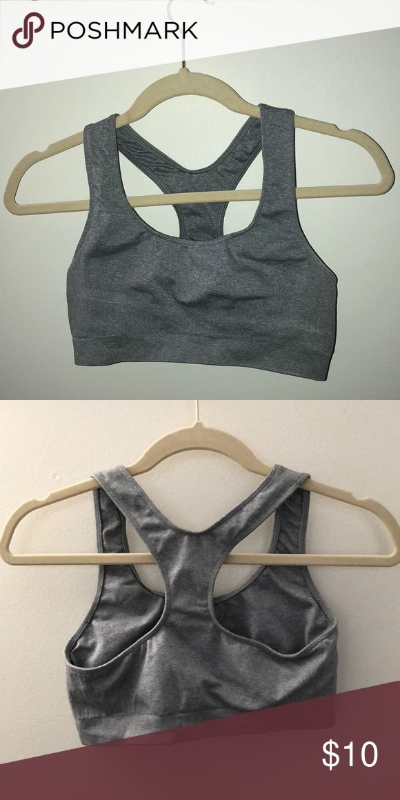 Barely there sports bra Barely worn. Super soft and stretchy but a thicker material Intimates & Sleepwear Bras