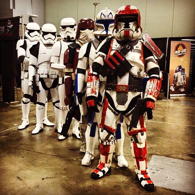 Trooper Evolution #swtor #clones #stormtrooper #1storder