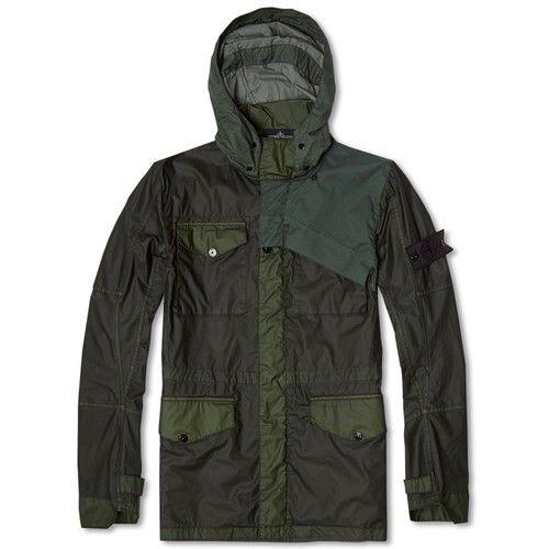 STONE ISLAND SHADOW PROJECT Mussola Gommata Field Jacket