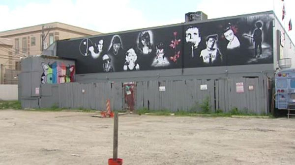 Local artist creates mural at Numbers Night Club honoring 80's ...