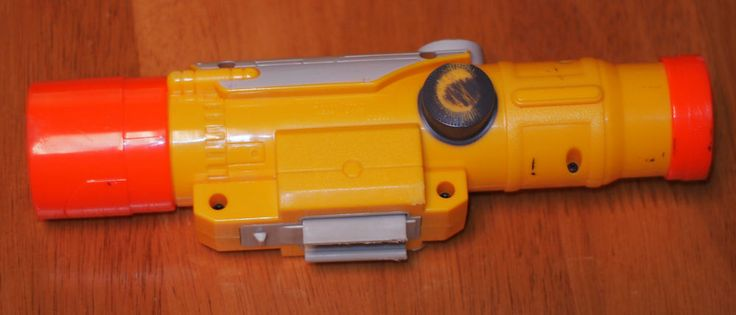 NERF LONGSHOT CS-6 TACTICAL SCOPE N-STRIKE ATTACHMENT YELLOW #NERF