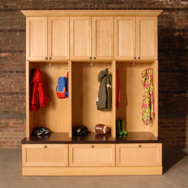 Locker Room Storage Cabinets