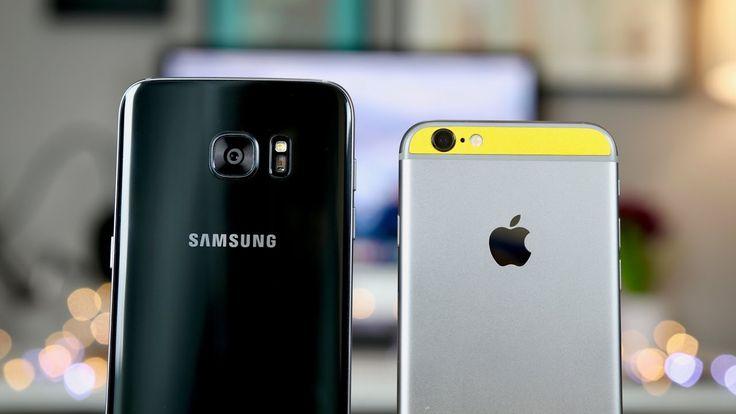 S7 Edge vs iPhone 6s Camera Comparison