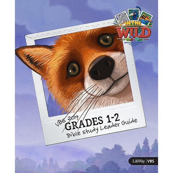 Grades 1-2 Bible Study Leader Guide - In The Wild VBS by