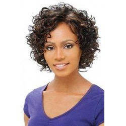 Charming Short Mixed Color Stylish Type: Full Wigs Cap Construction: Capless…