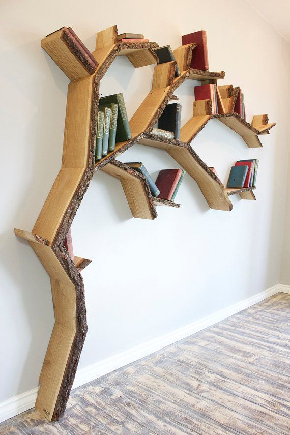 Best Tree Shelf Ideas On Pinterest Tree Bookshelf Natural - Corner tree bookshelf