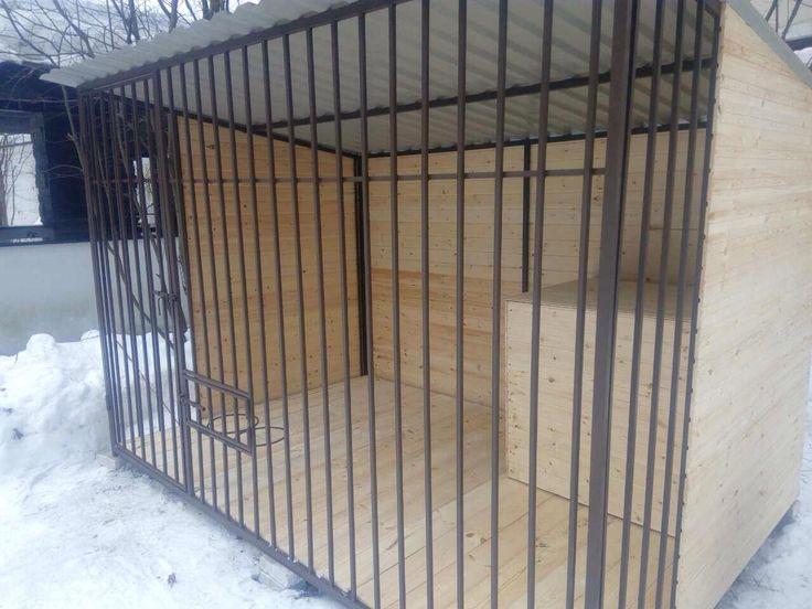 Enclosure for dogs,house for dog. Вольер для собаки от компании ФрендХом