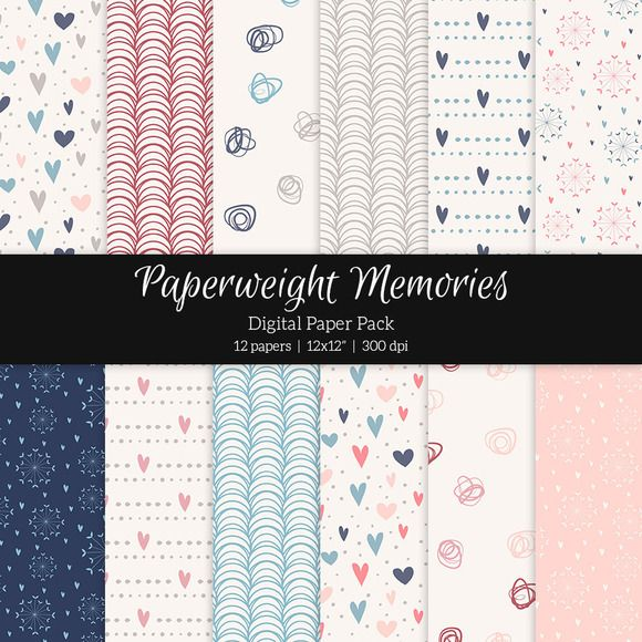 Patterned Paper – Love is in the Air by Paperweight Memories (http://crtv.mk/s0GsS)