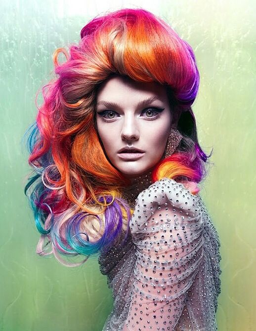 Go crazy on colour with Flip-In Hair!