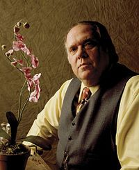 The late Maury Chaykin as Nero Wolfe.  In my humble opinion, the best Nero Wolfe on TV.