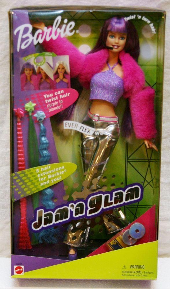 Best 25 barbie 2000 ideas on pinterest beautiful barbie dolls 2001 mattel barbie jamn glam barbie dolls sciox Images