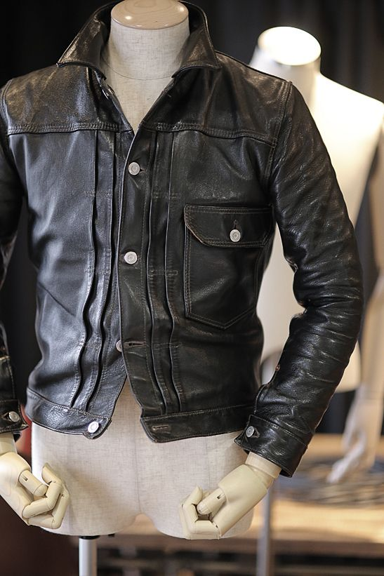 "1st type hosehide jacket ""Oklahoma City"" producted by HIGH LARGE LEATHERS"