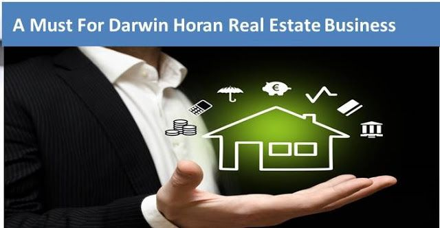 Darwin Horan - Real Estate Business : Realtor Marketing :- A Must For Darwin Horan Real ...