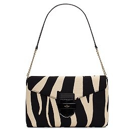 Kate Spade Zebra Clutch--- I'm not a fan of the animal thing but I think this bag is cute!