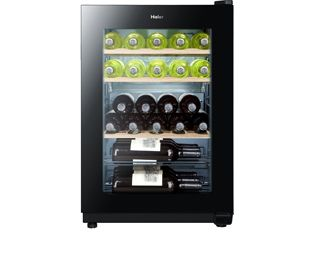 Thanks to Anti-vibration you'll barely know it's there! Thanks to its innovative anti-vibration design, this Haier wine cooler will stay nice and still, so you won't be hearing the bottles inside clinking together! It also has an Anti-UV glass door, which protects your wine from losing its colour and taste. With 5 wooden shelves inside, there's room for up to 25 bottles – which is perfect if you're a bit of a wine connoisseur. It comes with a 1 year warranty as standard, which can be ...