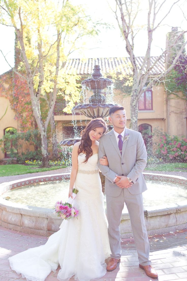 A Romantic Radiant Orchid Wedding