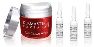 Dermastir caviar gift - Duo pack - giftpack, airless jar, skincare ampoules, caviar serum, gift pack, care for your skin, beauty and skin care products, made in France. Buy now on altacare.com