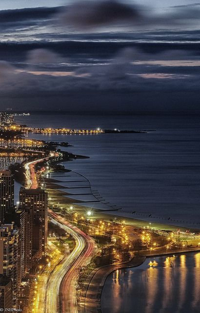 Chicago in the Night | Flickr