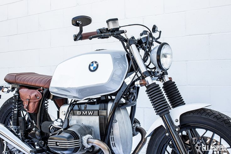 From Alaska To Australia: Ellaspede BMW R65LS — Fuel Tank