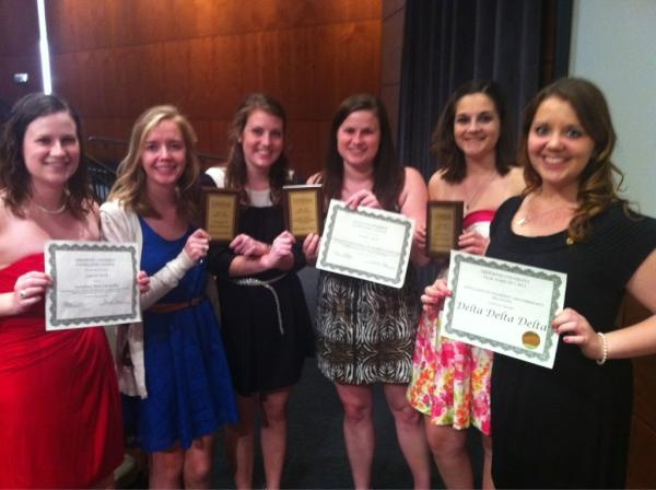 Congrats Epsilon Mu! Our Creighton chapter received awards in Philanthropy, Risk Management, Leadership & Training, and Campus & Community Relations, in addition to individual awards.