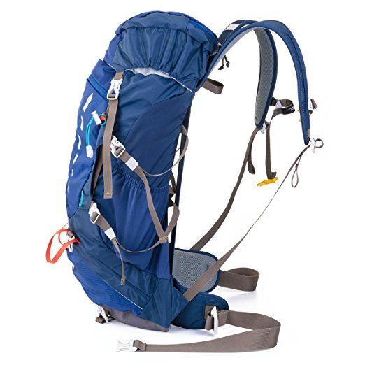Timberbrother Hiking Backpack / Trekking Rucksacks Internal Frame Waterproof Daypack for Camping, Mountaineering, Climbing and Other Outdoor Activities (Blue--40 Liters): Amazon.ca: Sports & Outdoors