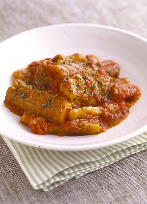 ごぼうと鶏肉のトマト煮込み