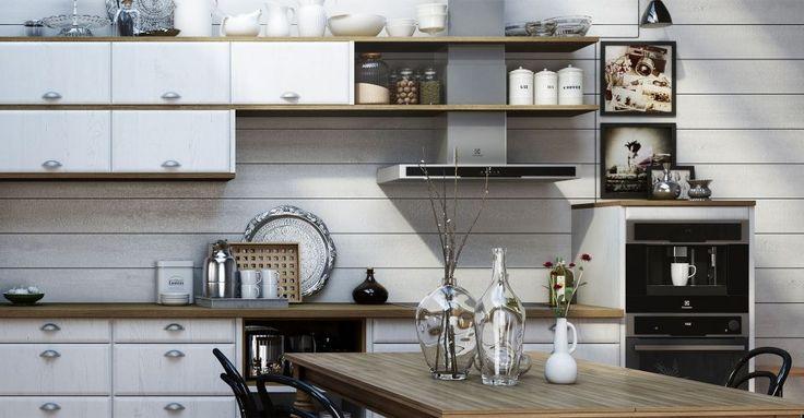 Stad Ek Kalk är ett modernt kök från Sentens   Electrolux Home - Electrolux Home