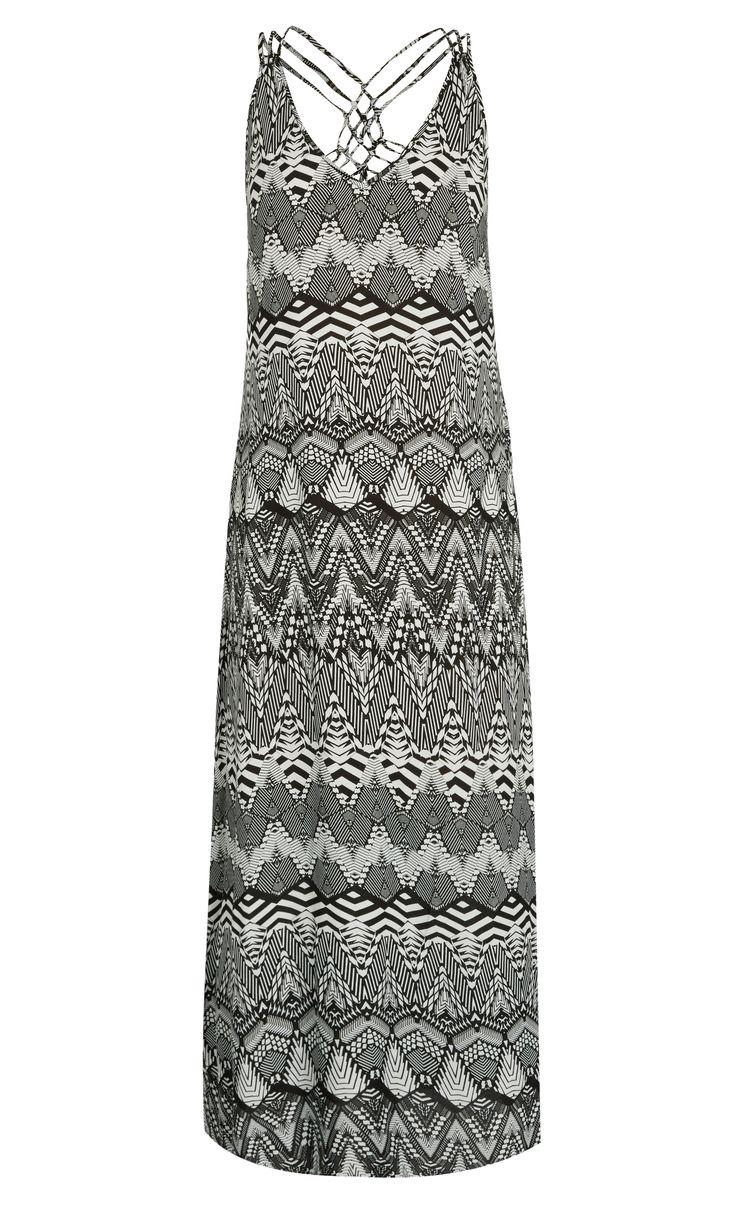 City Chic - SUMATRA MAXI DRESS - Women's Plus Size Fashion
