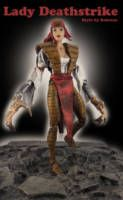 Lady Deathstrike is a super-villain in the Marvel Universe and is most commonly associated with Wolverine and the X-Men. Base figure Wasp ML Lady Deathstrike helmet, arms,  Finall full repaint