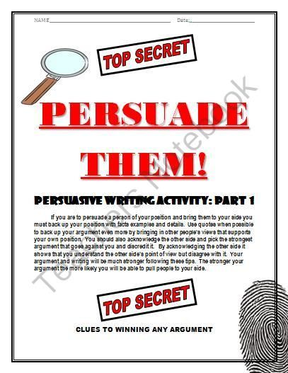 Persuasive Writing Essay Format with PromptsPersuasive Writing Essay Format with Prompts from TEACHLEARN on TeachersNotebook.com -  (7 pages)  - Writing a decent persuasive essay can be hard for students but with this simple format students will learn to master it. The seven page packet contains detailed paragraph by paragraph instructions on how to write a 5 paragraph essay and win your argument.