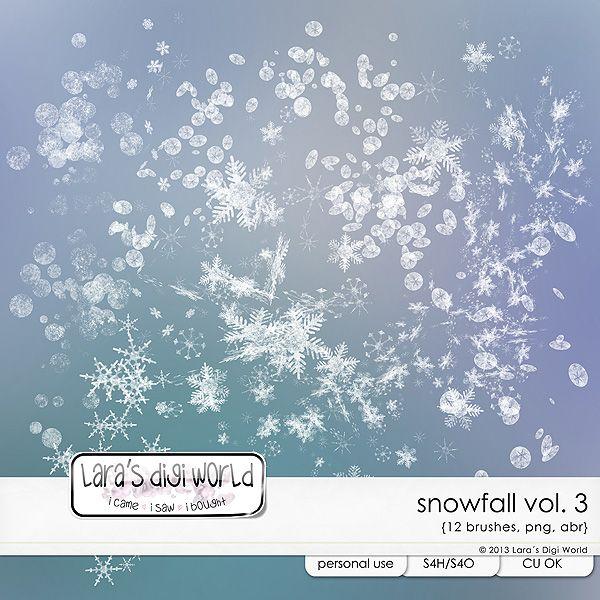 Snowfall Vol. 3 by Laras Digi World