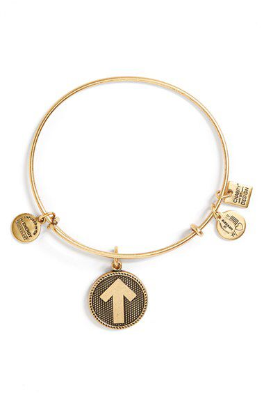 Alex and Ani Alex and Ani 'Stand Up to Cancer' Expandable Wire Bangle available at #Nordstrom