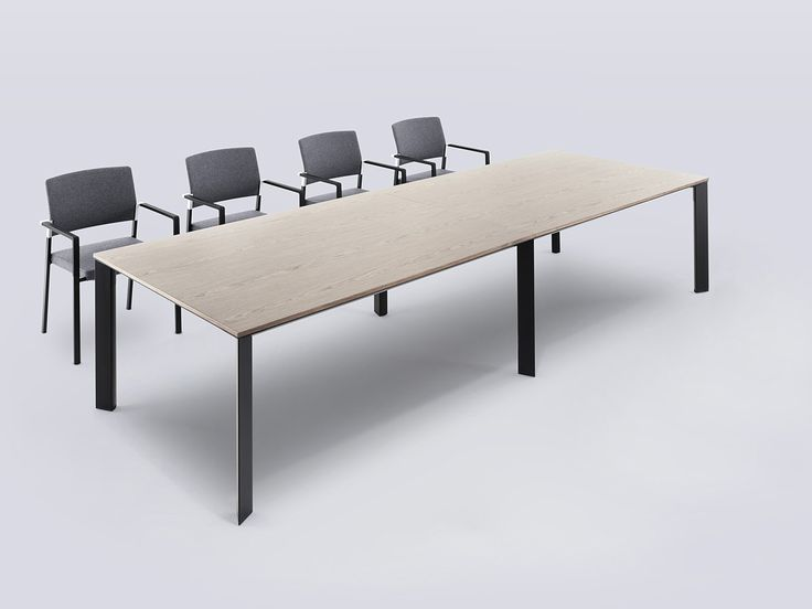 Chameleon / Rectangular Table Chameleon Is A Simple Yet Elegant Table  System. The Uncomplicated Detailing Makes It The Ideal Solution For  Numerous ...