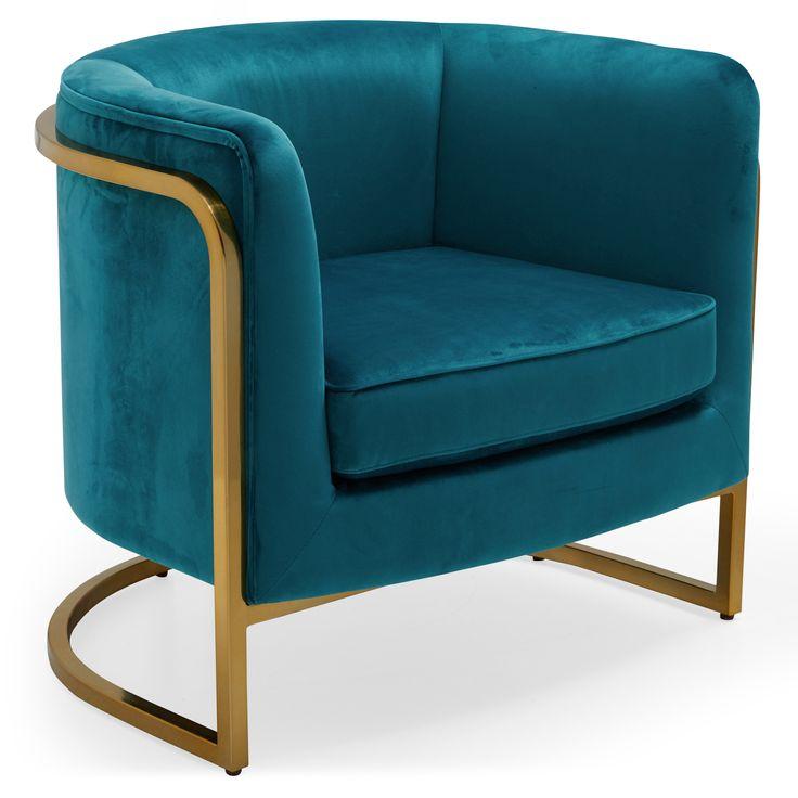 Best Modrn Marni Barrel Accent Chair Multiple Colors Walmart 400 x 300