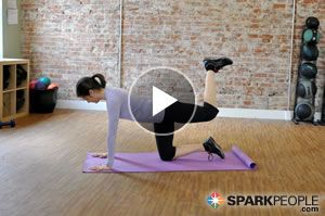 The WORLD'S BEST #Butt #Workout!! No equipment, just 5 minutes! | via @SparkPeople #fitness #exercise #video