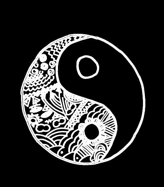 Les 25 meilleures id es de la cat gorie fond d 39 cran yin for Deco ying yang