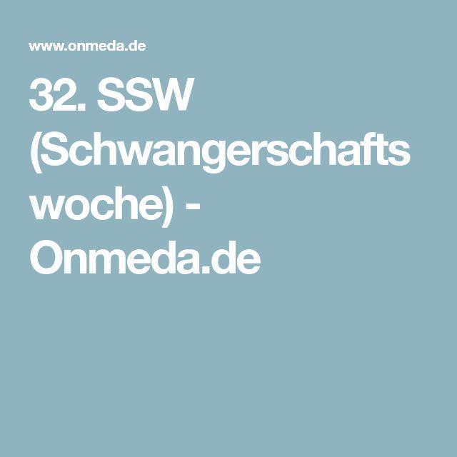 32. SSW (Schwangerschaftswoche) - Onmeda.de