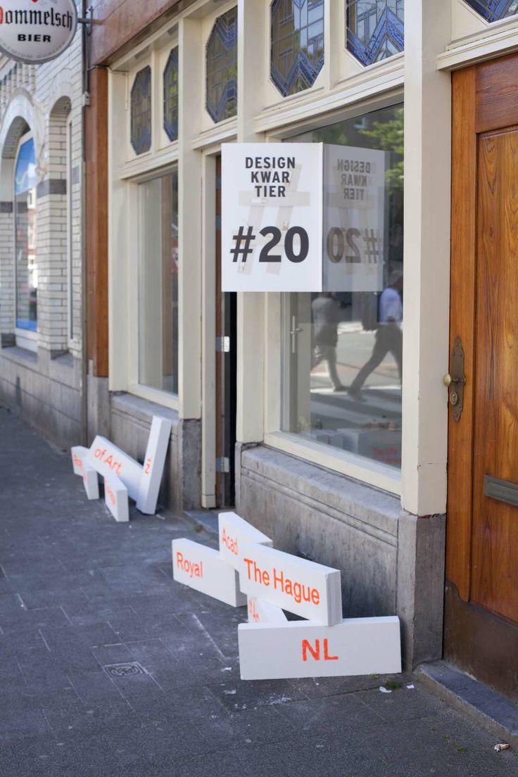 KABK tijdens Designkwartier Den Haag