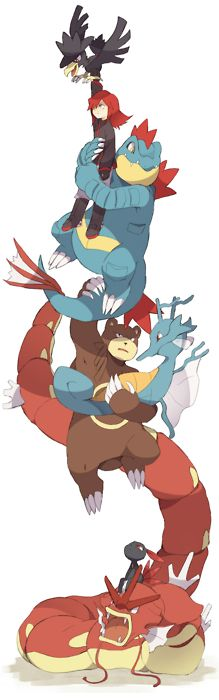 silver and his pokemon