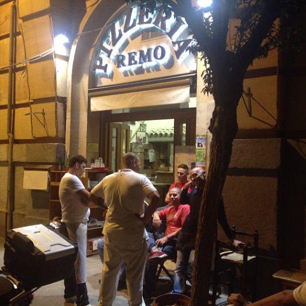 Remo in Roma, Lazio  Good pizza. Dinner only