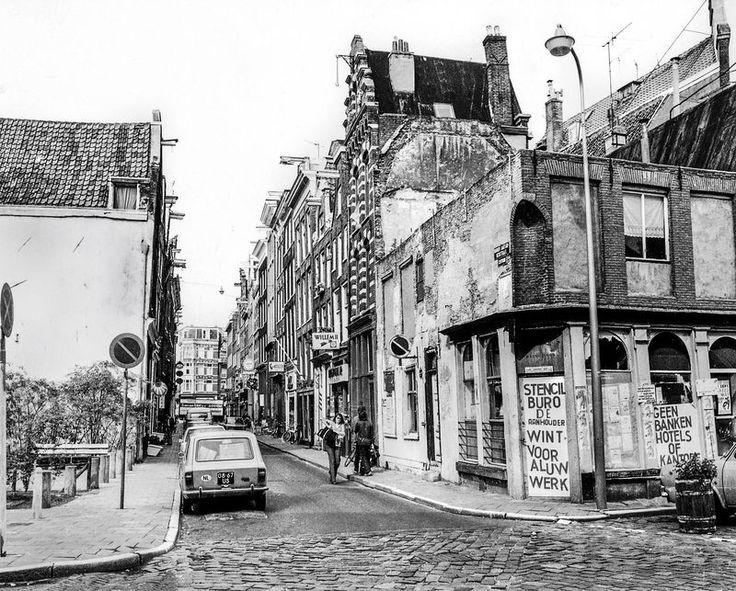 Binnen Bantammerstraat, 1974. In deze straat ...