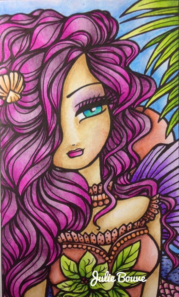 Enchanted faces Hannah Lynn Colored by Julie Bouve