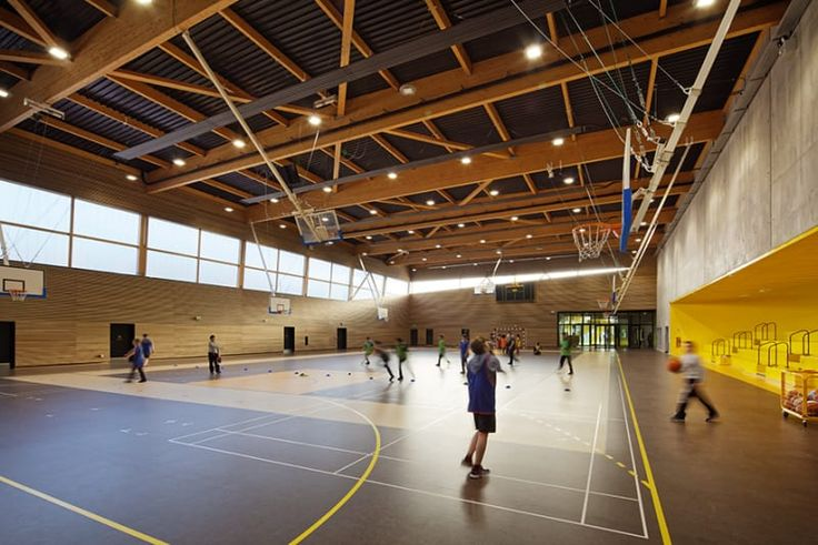 chartier dalix architectes, Takuji Shimmura · Secondary school, sport hall and cultural center